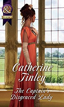 The Captain's Disgraced Lady by Catherine Tinley blogtour book review